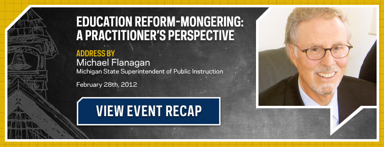 Education Reform-mongering: A Practitioner's Perspective Recap