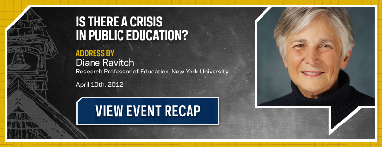 Is there a crisis in public education? Recap